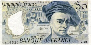 Banknote from France