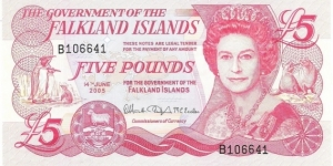 5 Pounds Banknote