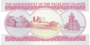 Banknote from Falkland Islands