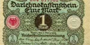 1 Mark Banknote