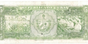 Banknote from Cuba