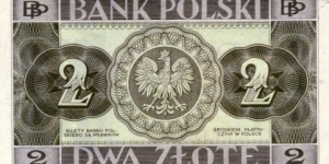 Banknote from Poland