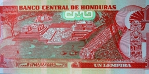 Banknote from Honduras