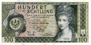 100 Schilling Banknote