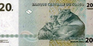Banknote from Congo