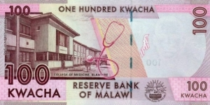 Banknote from Malawi
