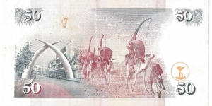 Banknote from Kenya