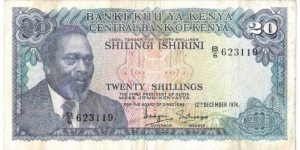 20 Shillings Banknote