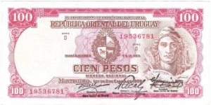 100 Pesos(1967 issue) Banknote