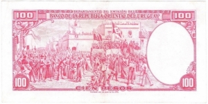 Banknote from Uruguay
