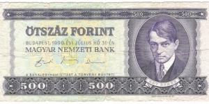 500 Forint(1990) Banknote