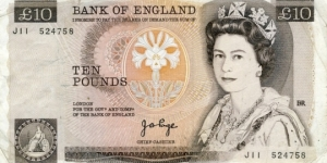 10 Pounds Banknote
