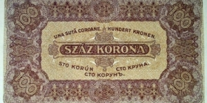 Banknote from Hungary