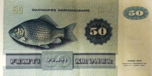 Banknote from Denmark
