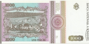 Banknote from Romania