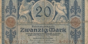20 Mark Banknote
