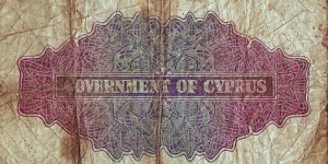 Banknote from Cyprus