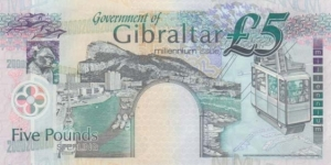 Banknote from Gibraltar