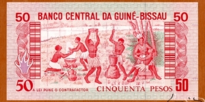 Banknote from Guinea-Bissau