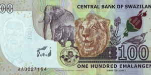 Banknote from Swaziland