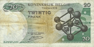 Banknote from Belgium