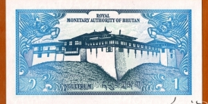 Banknote from Bhutan