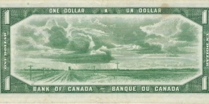 Banknote from Canada
