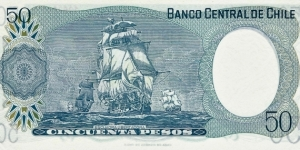 Banknote from Chile