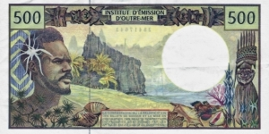 Banknote from French Polynesia
