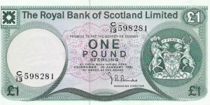 SCOTLAND 1 Pound