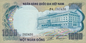 SOUTH VIETNAM 1000 Dong