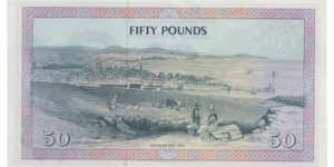 Isle of Man 50 Pounds  Banknote