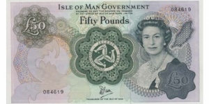 Banknote from Isle of Man