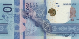 Banknote from Aruba