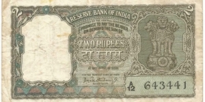 RESERVE BANK OF INDIA     1962-1967 REPUBLIC of INDIA