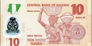 Banknote from Nigeria