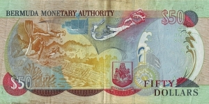 Banknote from Bermuda