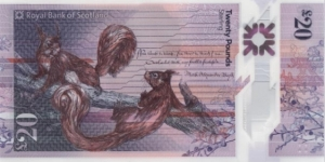 Scotland 20 Pounds  Banknote