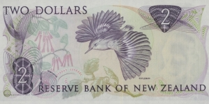 Banknote from New Zealand