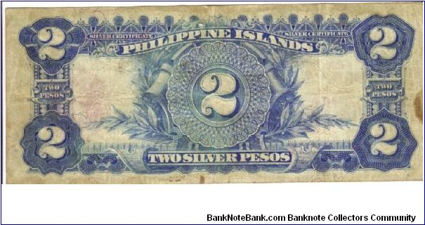 Banknote from Philippines year 1906