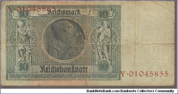 Banknote from Germany year 1929