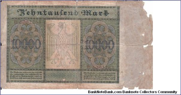 Banknote from Germany year 1922
