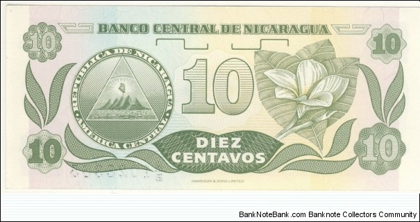 Banknote from Nicaragua year 1991
