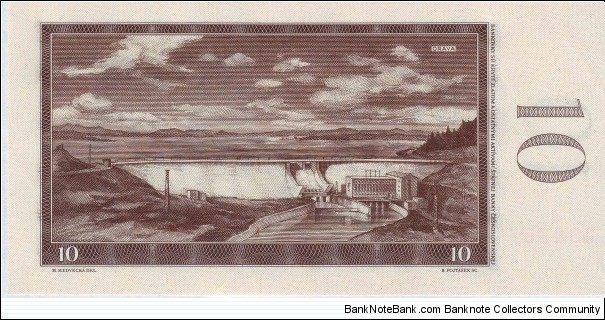 Banknote from Czech Republic year 1960