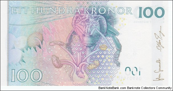 Banknote from Sweden year 2006