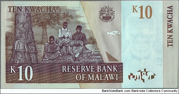 Banknote from Malawi year 2004