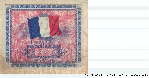 Banknote from France year 1944