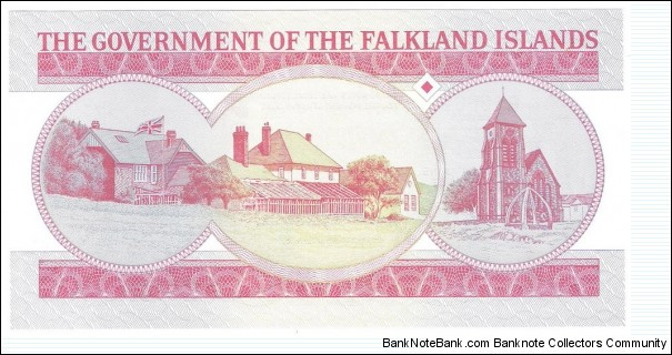 Banknote from Falkland Islands year 2005