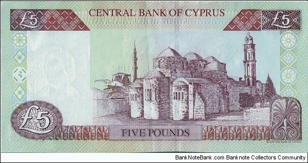 Banknote from Cyprus year 2001