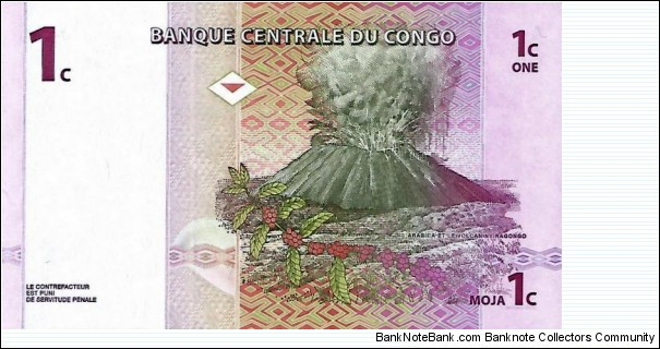 Banknote from Congo year 1997